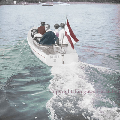 Motorbootfahrt, Mira II, Wörthersee, Kärnten,